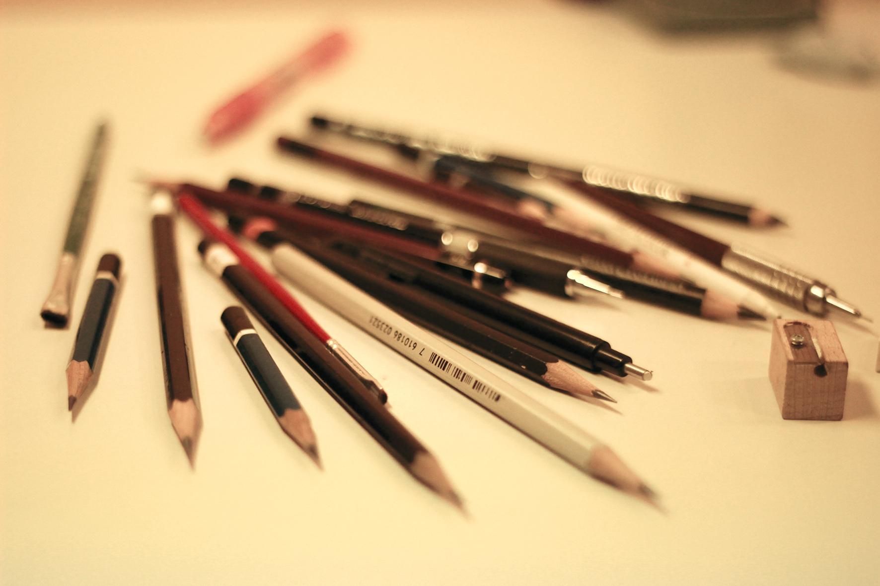 materiais para desenhos realistas