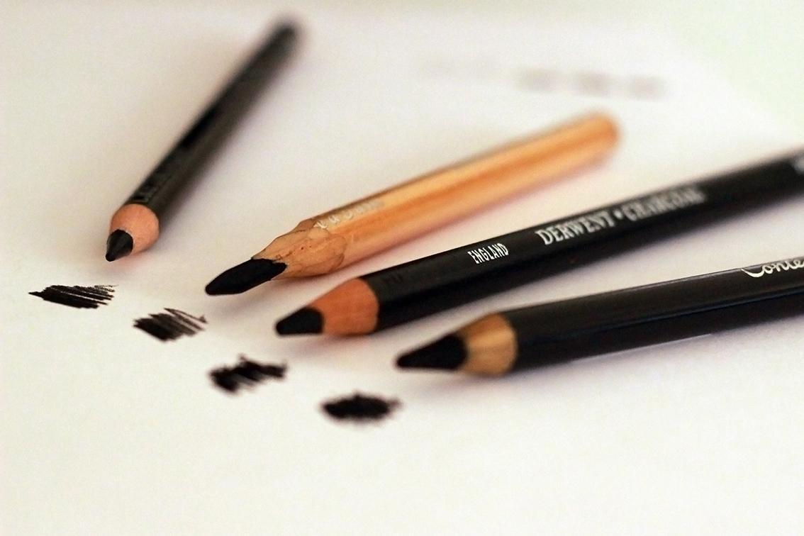 lápis carvão