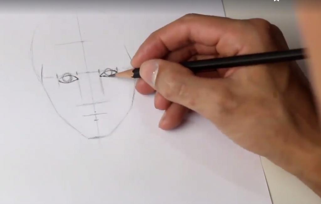 aprender a desenhar esboço