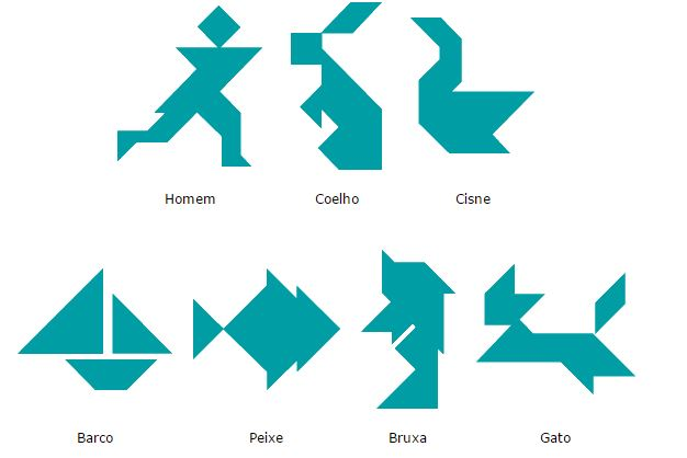 aprender a desenhar tangram