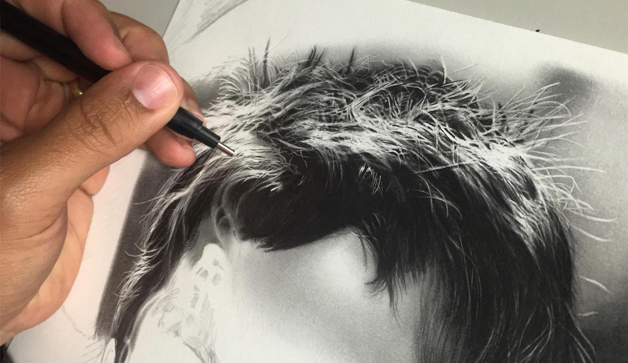como fazer desenhos realistas
