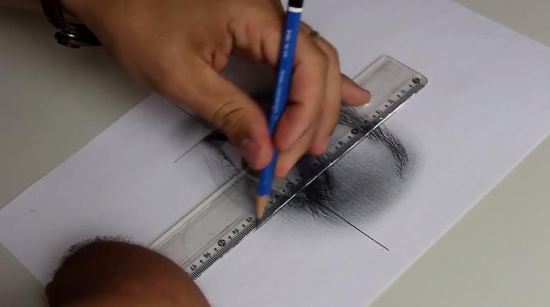 Como fazer desenhos realistas - linhas diretrizes