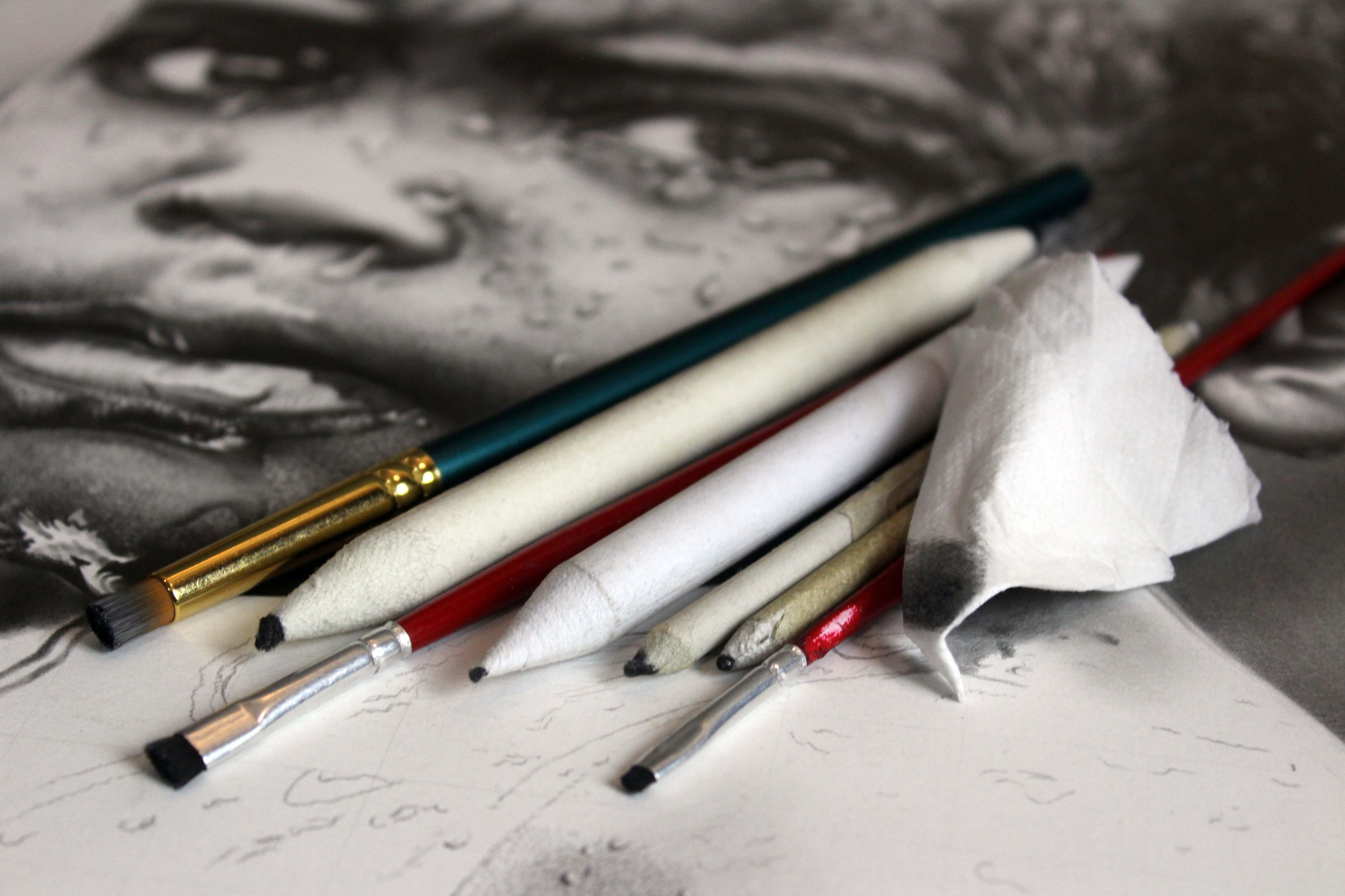 Como Esfumar O Grafite Em Seu Desenho