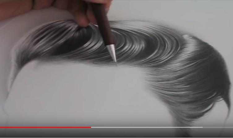 vídeo de desenho