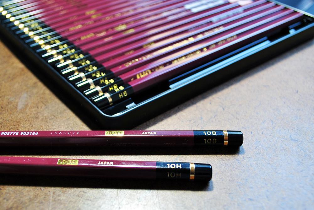 Lápis para desenho realista