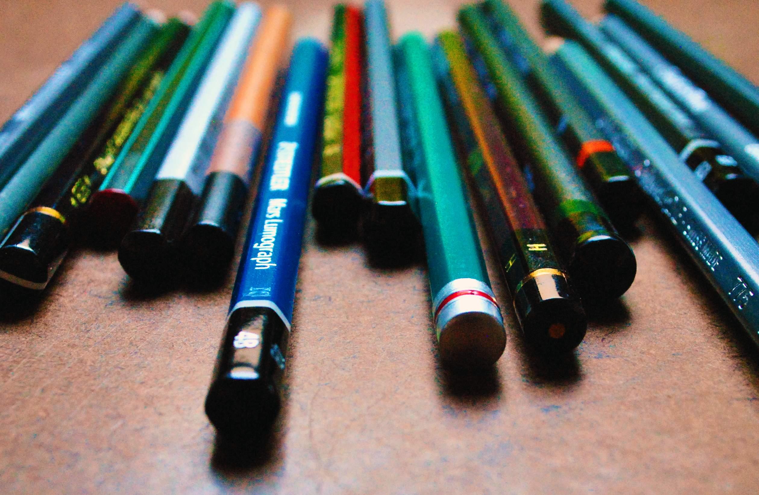 Lápis graduado: qual marca escolher?