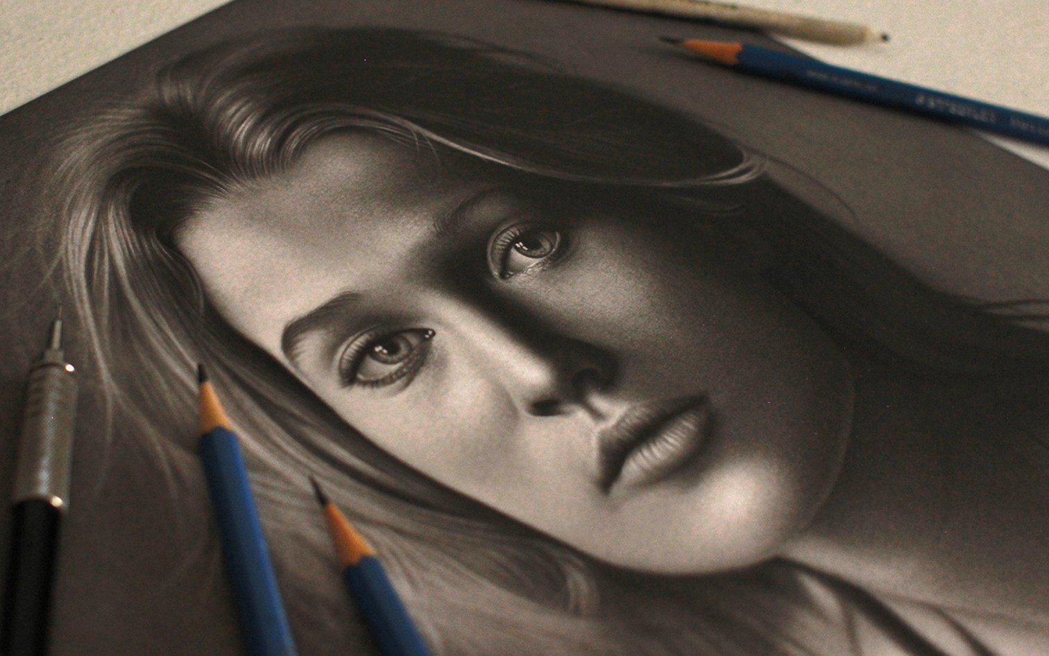 A arte do desenho realista