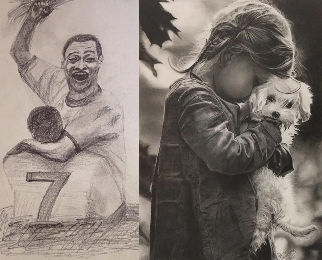 Como desenhar realista