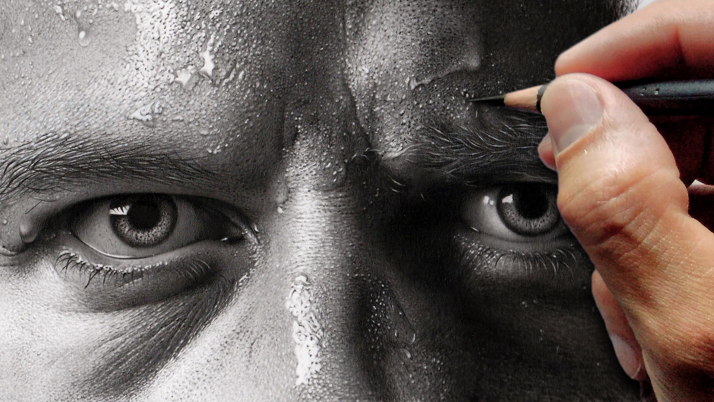 Por que desenhos à lápis parecem tão reais aprenda como