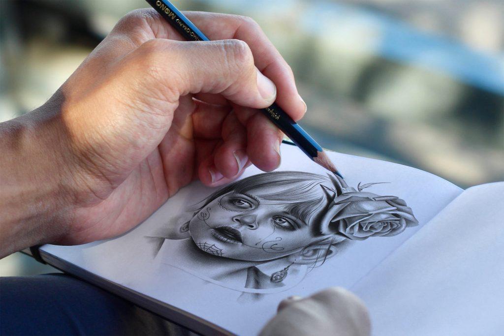 Desenhos Para Colorir? A Beleza Do Desenho Realista Em