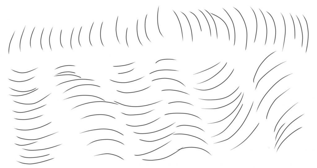 Como desenhar pelos