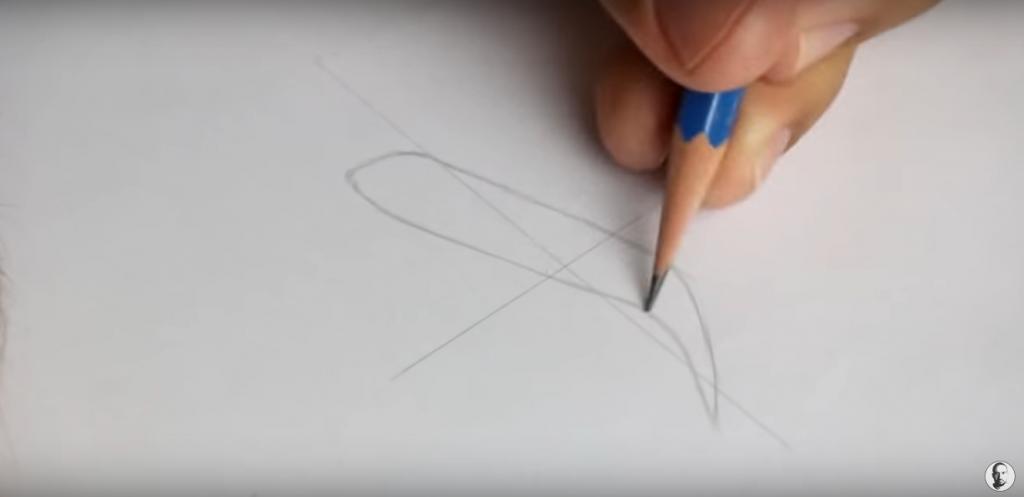 como desenhar sobrancelha