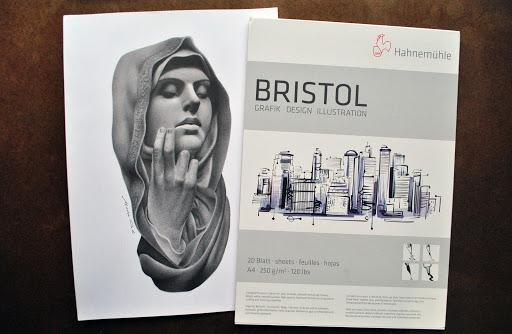 Resenha: conhecendo o papel Hahnemühle Bristol